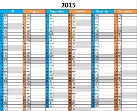 Wochen Kalender 2015 Kalender 2015 Mit Feiertagen Schulferien Und