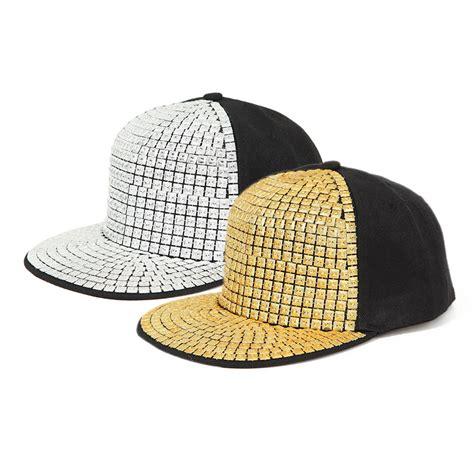 Studded Cap studded flat bill cap e101