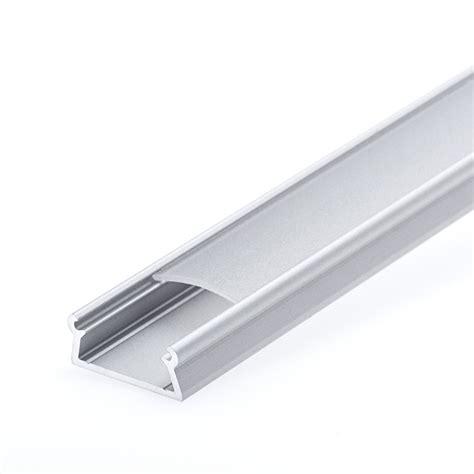 Anodized Aluminum Surface Mount Led Profile Housing For Led Light Housing