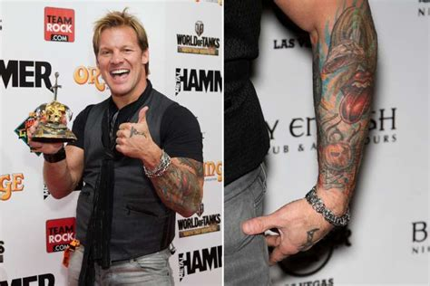 chris jericho tattoos 10 things you didn t about chris jericho