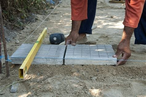how to level a house diy paving in 4 easy steps