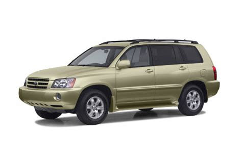 toyota lexus 2002 model 2002 toyota highlander overview cars