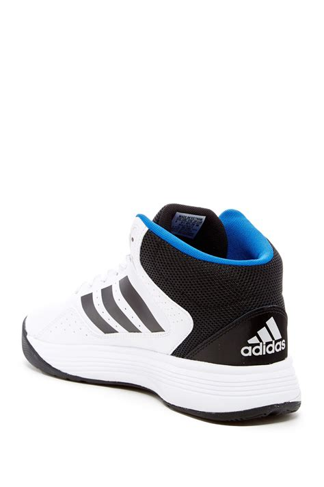 wide basketball shoes adidas originals cloudfoam ilation mid wide basketball