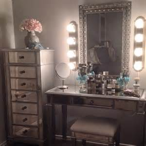Mirrored Vanity With Lights 25 Best Ideas About Mirrored Furniture On