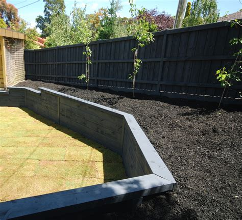 Treated Sleepers by Treated Pine Sleepers Great Choice For Retaining Walls