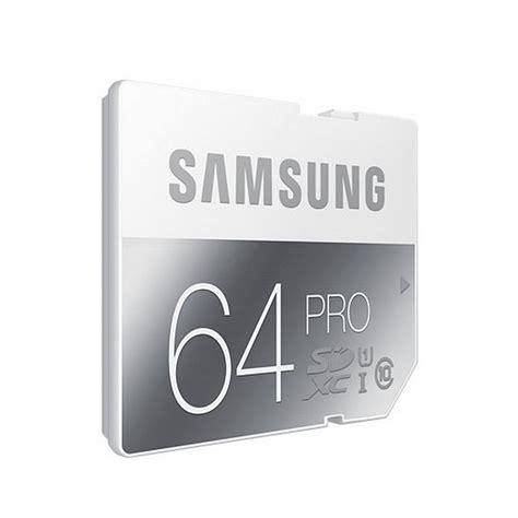 Samsung Microsd Pro Class 10 Uhs I 64gb 90 Mbps samsung sdxc pro 64gb class 10 uhs i pccomponentes