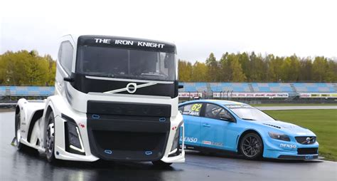 2016 volvo big rig a volvo big rig take on a polestar race car 95 octane