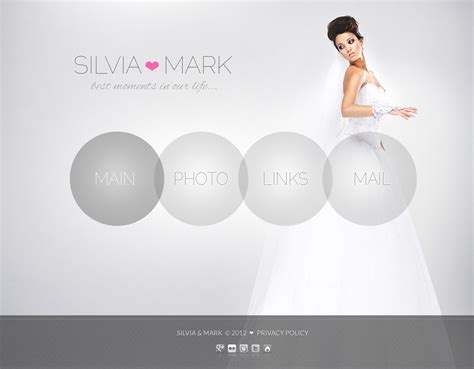 Wedding Album Questions by Wedding Album Website Template 39269