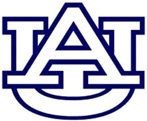best photos of auburn logo stencil auburn university