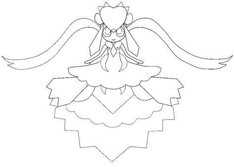 pokemon coloring pages mega diancie coloring page mega evolved pokemon mega diancie 719 719