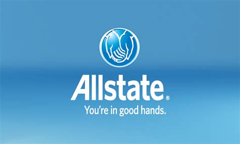 blue allstate business card design 201261