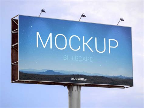 billboard mockup template free the gallery for gt billboard psd