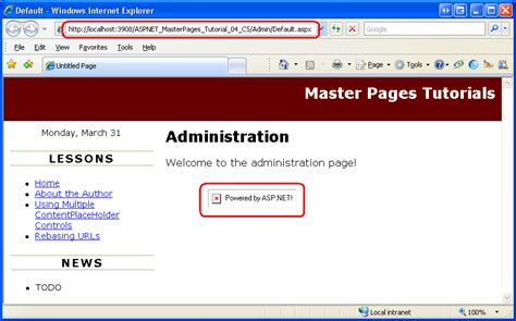 asp net master page templates download free asp net master page templates free