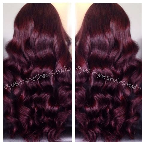 wine brown hair color brown hairs of