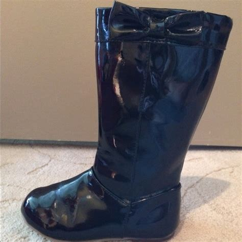 50 gymboree other toddler size 9 black boots