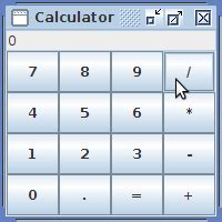calculator in java using swing java exles swing calculator