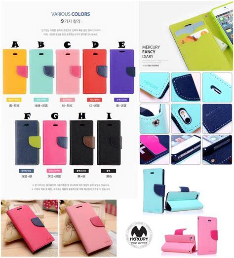 Sarung Mercury Fancy Diary Iphone 7 Plus 55 Inch Coklat iphone 6 4 7 plus 5 5 mercury goospery fancy diary end 6