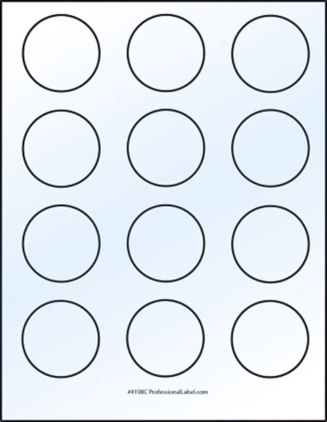 Paper Source Round Label Template