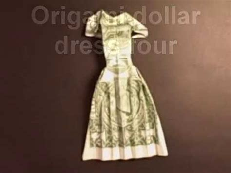 Money Origami Wedding Dress - origami dollar dress four