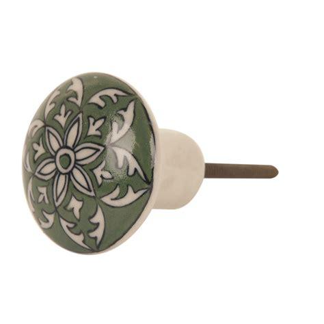 painted ceramic door knobs various designs