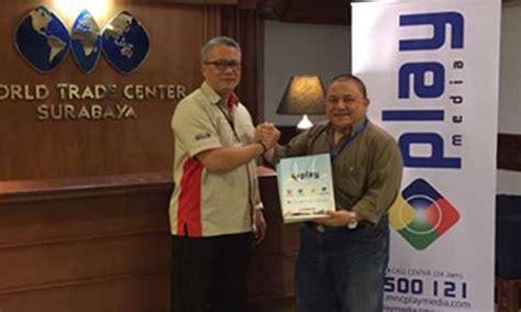 Tongsis Di Wtc Surabaya mnc play membawa koneksi fiber optic ke wtc surabaya mnc play