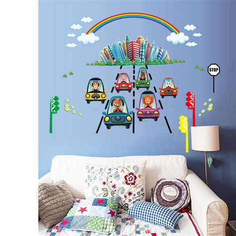 Car Wall Decals For Nursery Car Wall Stickers For Nursery Home Design Tech