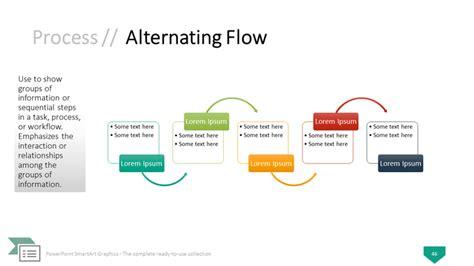 Smartart Powerpoint Template Smartart Process Templates