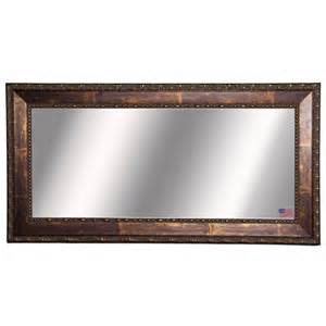 American made rayne extra large roman copper bronze wall mirror