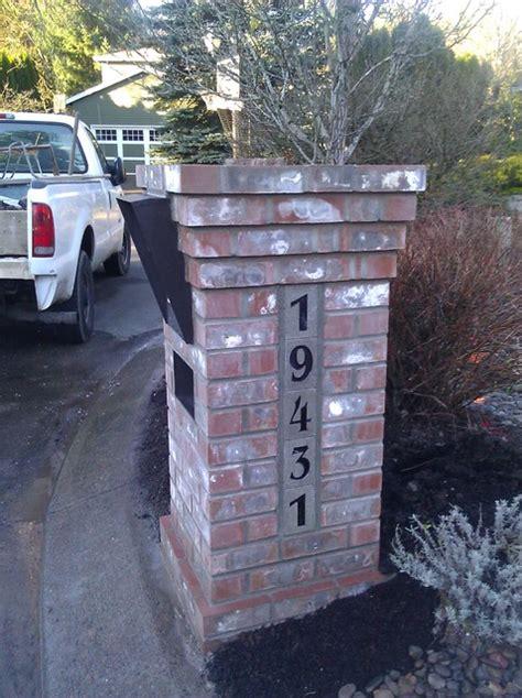 Lake Oswego Post Office by Lake Oswego Brick Mailbox Traditional Landscape
