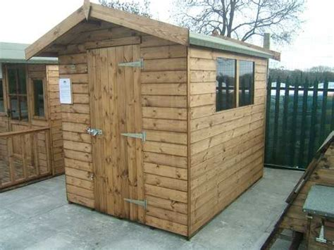 Sectional Sheds by 8 X 6 Apex Garden Shed Smiths Sectional Buildings