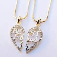 On pinterest best friend necklaces bff necklaces and necklace set