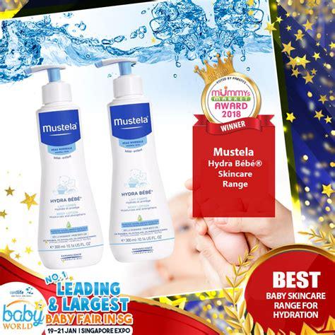 best skincare range mustela best baby skincare range for hydration
