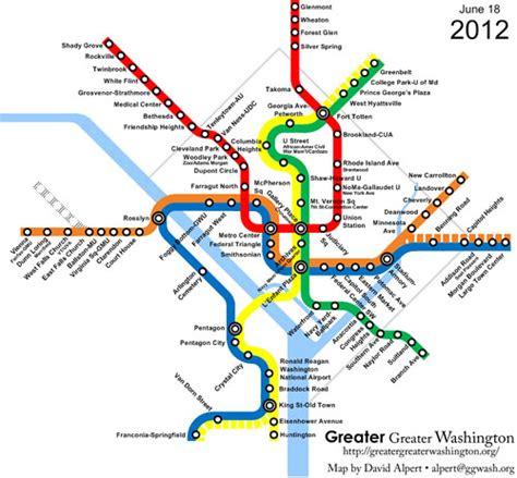 metro washington dc map lines evolution of metrorail animation now with plus