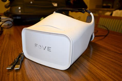 Fove Vr on fove s eye tracking vr headset was the next best at ces road to vr