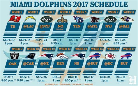 printable nfl schedule with bye weeks bye week schedule 2017