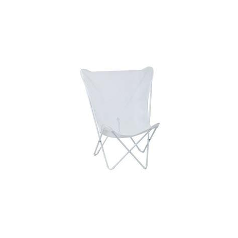 fauteuil pliant lafuma fauteuil pliant blanc maxi pop up lafuma plantes et jardins