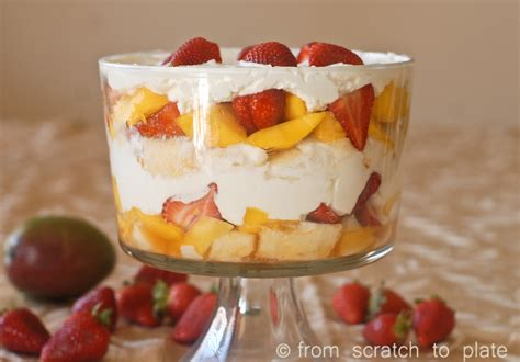 strawberry mango trifle fromscratchtoplate