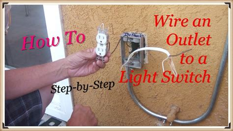 how to wire an outlet a switch quot the shack quot