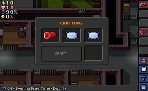 the escapist craft how to craft bed dummy the escapists 187 wiki guide tip