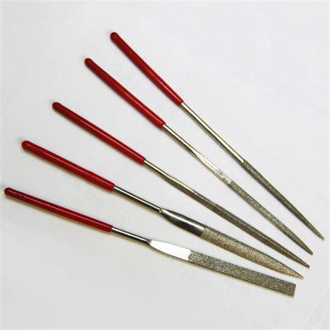 Kikir Set Isi 10 File Set 10pc set lime file per metallo pietra di vetro gioie