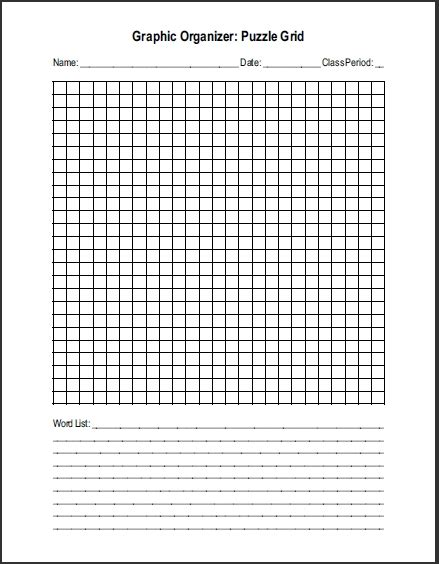 make your own crossword template crossword template word invitation template