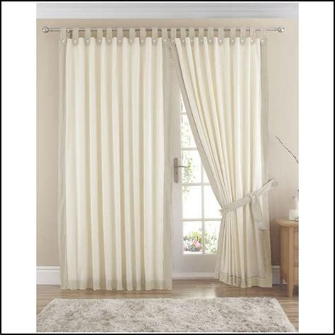 home decor design draperies curtains cream cotton tab top curtains download page home design