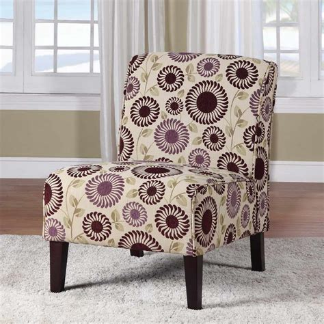 printed chairs living room contemporary living room ideas with brown purple floral