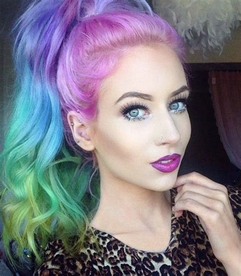 Colorful Hairstyles by 15 Funky Hairstyles For