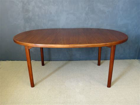 Oval Teak Dining Table Dux Modern Teak Oval Dining Table Retrocraft Design Collection Tables