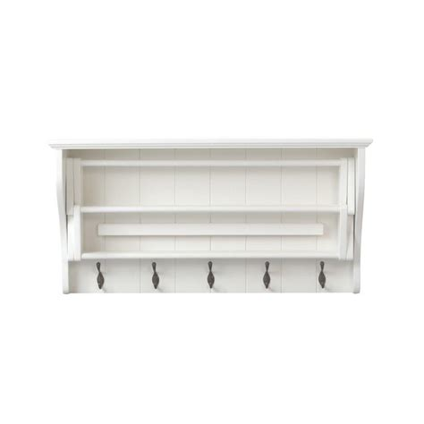Wall Mount Accordion Drying Rack home decorators collection 18 in h white