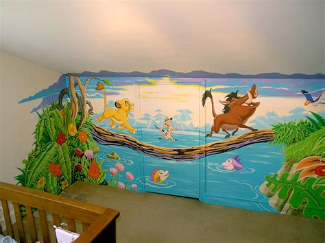 lion king bedroom theme lion king mural sacredart murals