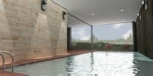 piscinas interiores obra spa interior casa modular