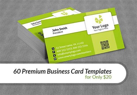 premium business card templates 60 premium business card templates for only 20 inkydeals