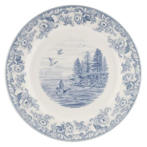 spode delamere lakeside buffet plate 30cm made in england